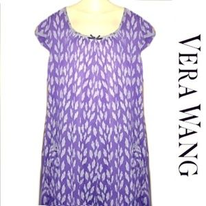 New Vera Wang Purple Floral Casual Lounge Dress XL